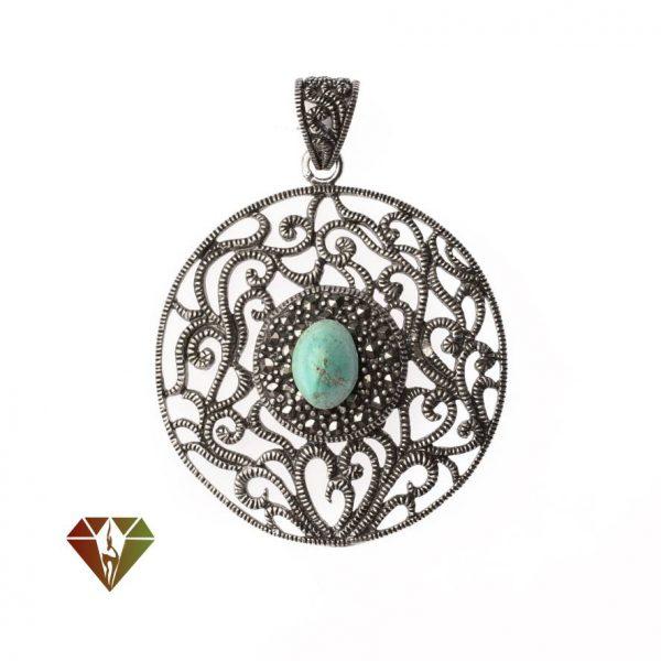 مدال نقره فیروزه طرح خرداد