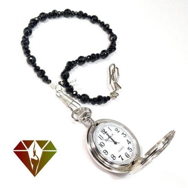 ساعت جیبی عقیق (اونیکس)