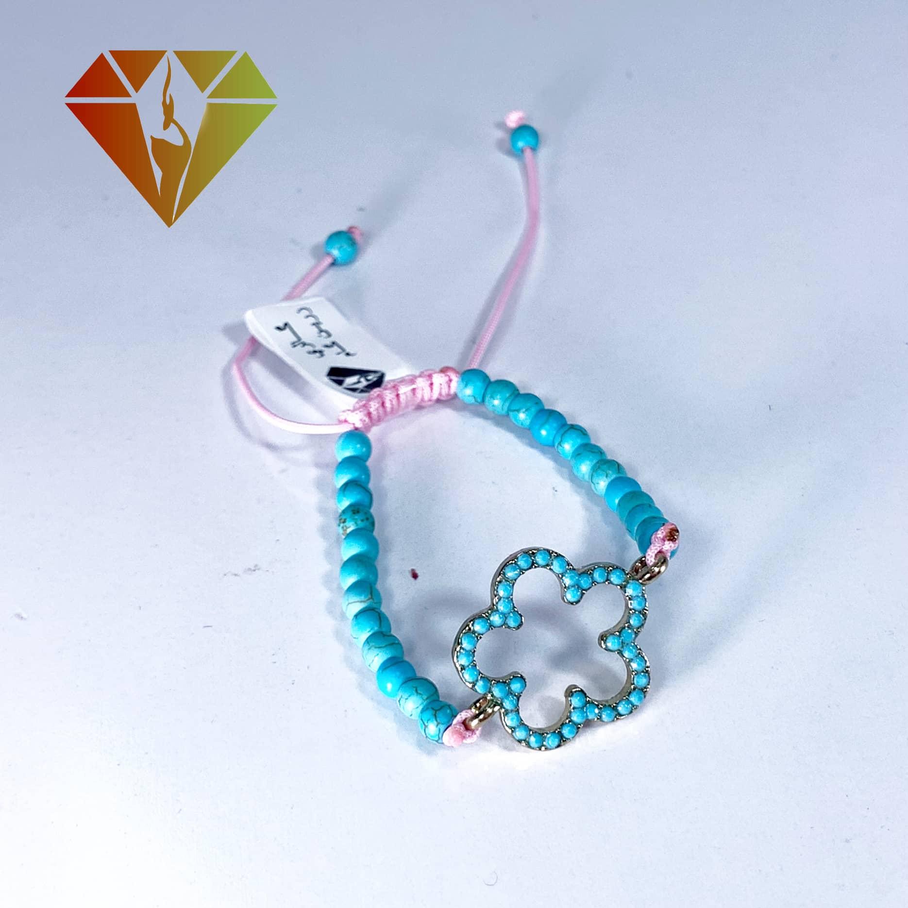 دستبند فیروزه تبتی بچگانه