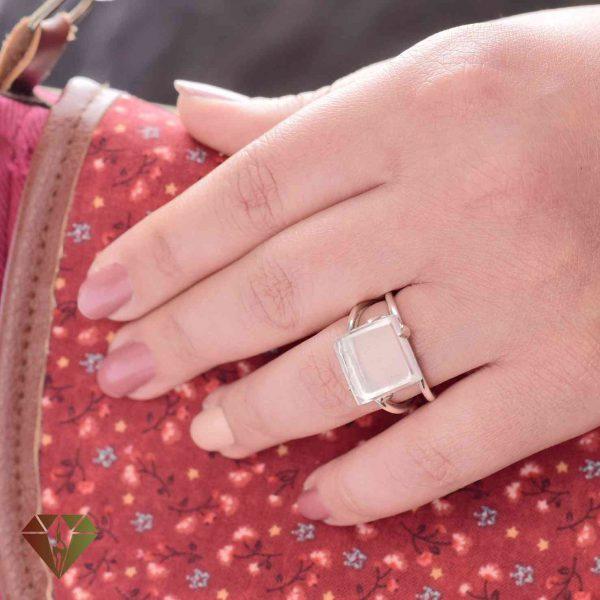 انگشتر زنانه دُر