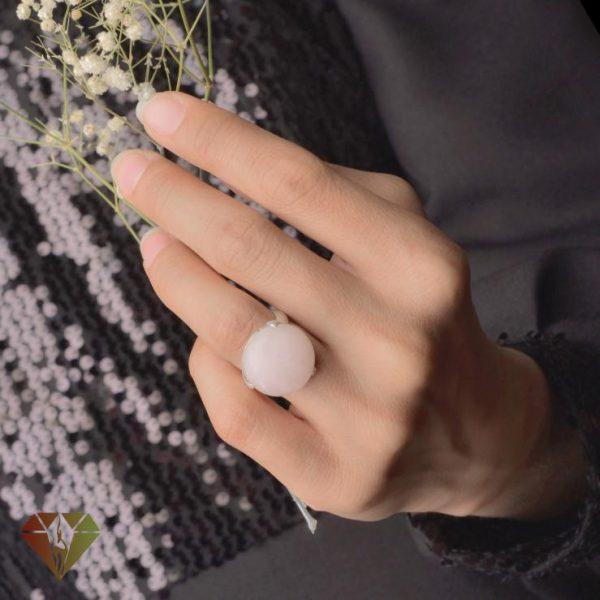 انگشتر زنانه رزکوارتز